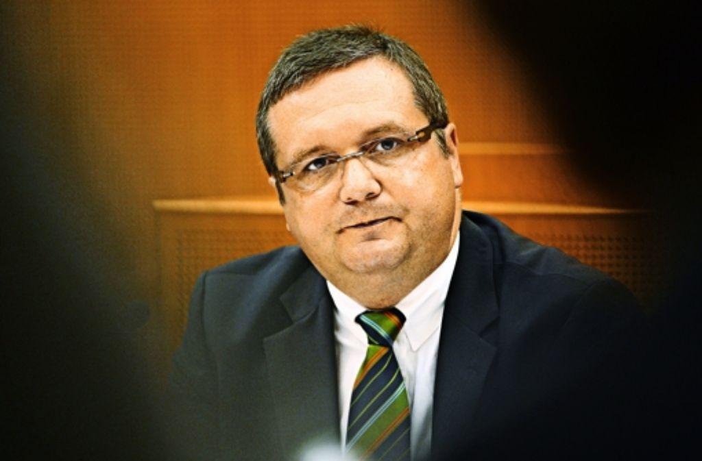 """Stefan Mappus wird am Freitag offenbar nicht als """"Betroffener"""" im EnBW-Untersuchungsausschuss des Landtags erscheinen. Foto: dpa"""