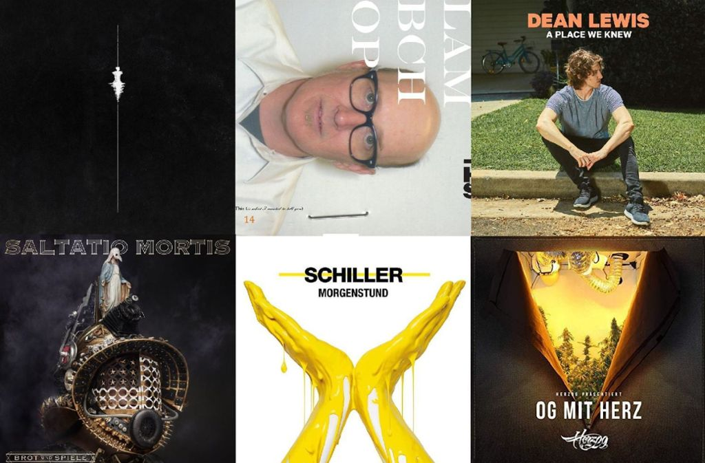 Jede Menge neue Alben: die wichtigsten Veröffentlichungen vom 22. März Foto: Labels