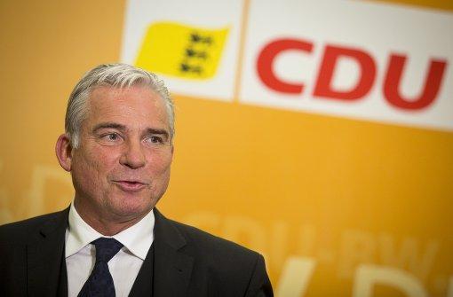 CDU-Landeschef reagiert zurückhaltend