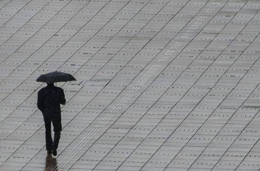 Sturmtief sorgt für Regen und Orkanböen
