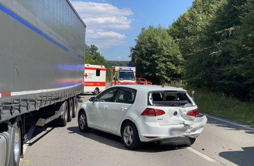 Magstadter Straße nach Unfall für zwei Stunden gesperrt