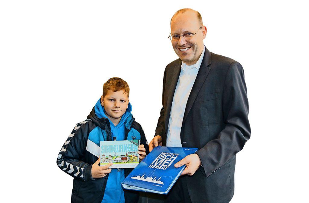 Für Neubürger:  ein Gutscheinheft vom OB Vöhringer Foto: Stadtverwaltung
