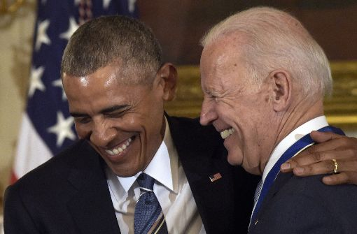 """""""Bromance"""" zwischen Obama und seinem Ex-Vize geht weiter"""