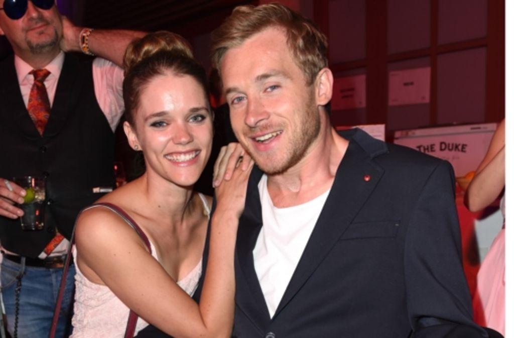 Schauspieler Samuel Koch hat sich mit seiner Kollegin Sarah Elena Timpe verlobt Foto: Getty Images