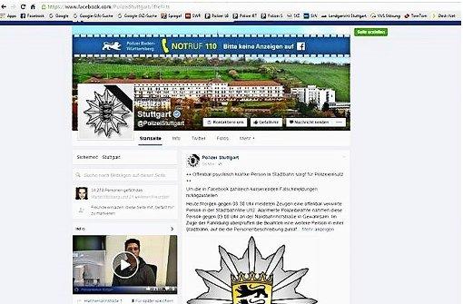 Polizei startet landesweit  Auftritte in den sozialen Medien