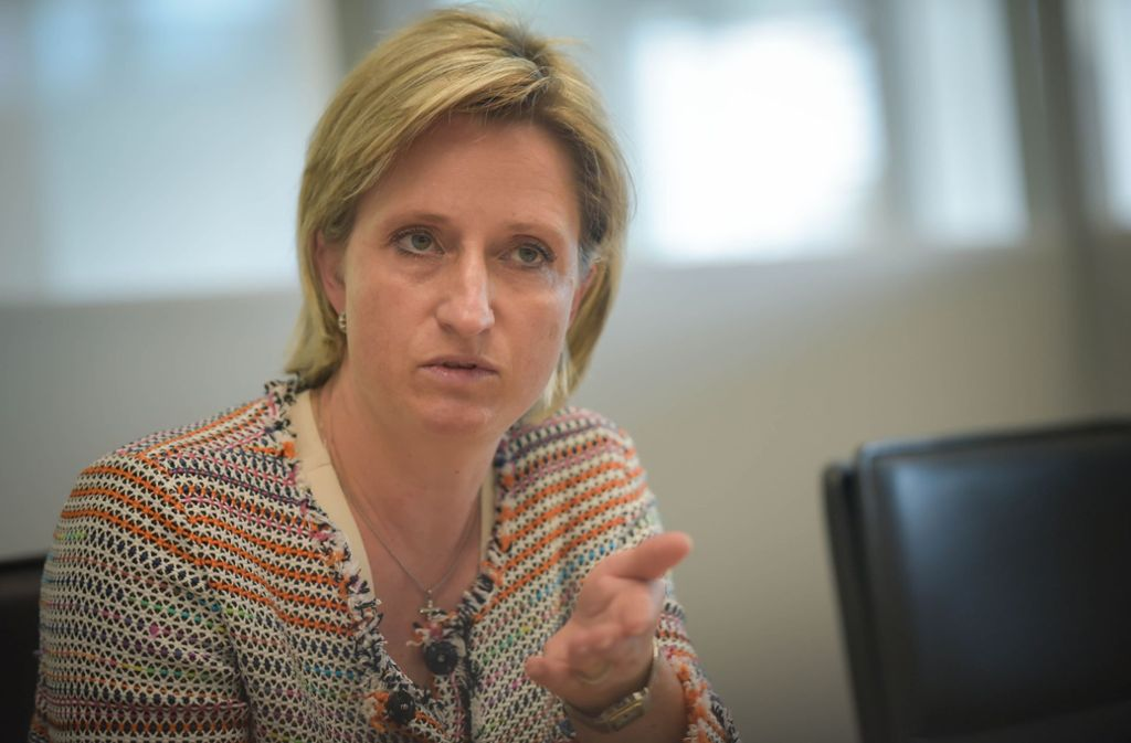 Nicole Hoffmeister-Kraut (CDU) fordert bundesweit einheitliche Regeln und Schutzstandards. Foto: Lichtgut/Max Kovalenko