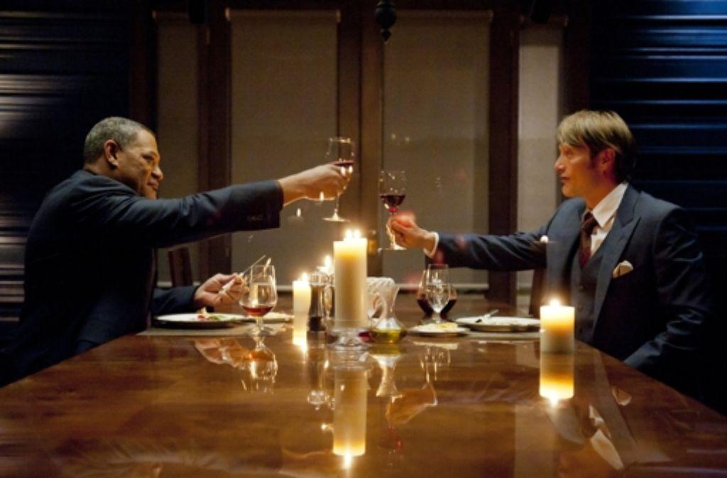 "Ed Kemper gilt als Vorbild für Hannibal Lecter (Mads Mikkelsen, rechts, in der TV-Serie ""Hannibal"") Foto: NBC"
