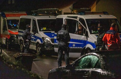 Spezialkräfte der Polizei im Einsatz