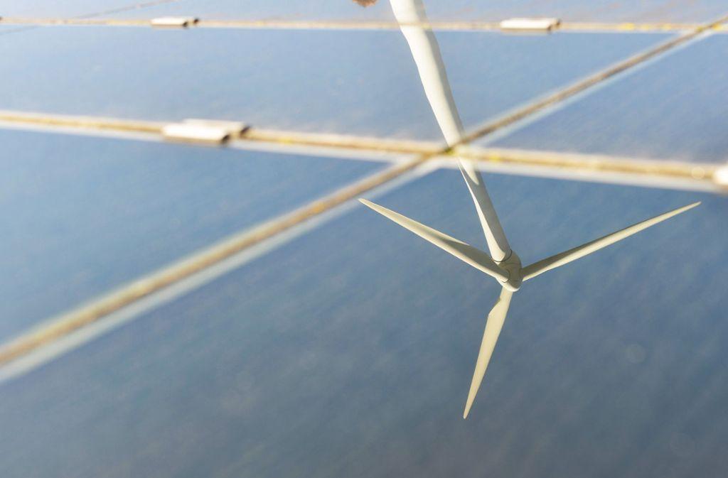 Vor allem Strom aus Wind und Sonne hat deutlich zugenommen. Foto: dpa