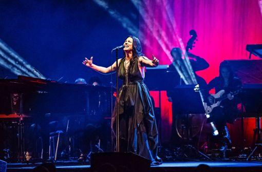 Solo für Amy – und Orchester