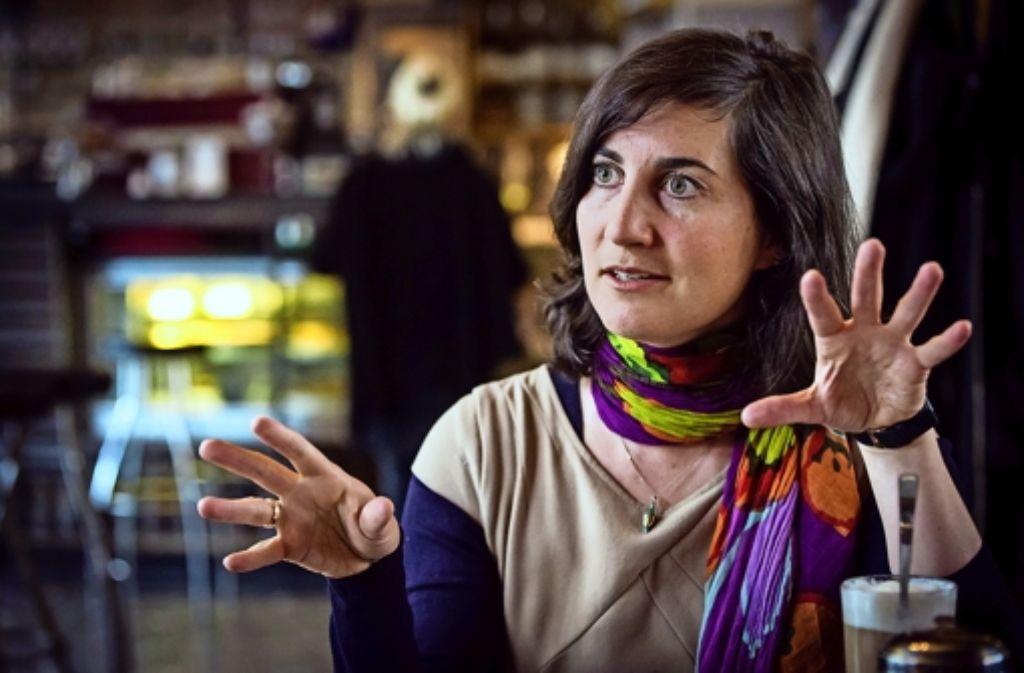 Anna Deparnay-Grunenberg ist die  Fraktionssprecherin der Grünen. Sie hat für die Stuttgarter Ökopartei die meisten Stimmen bei der Gemeinderatswahl  geholt. Foto: Lichtgut