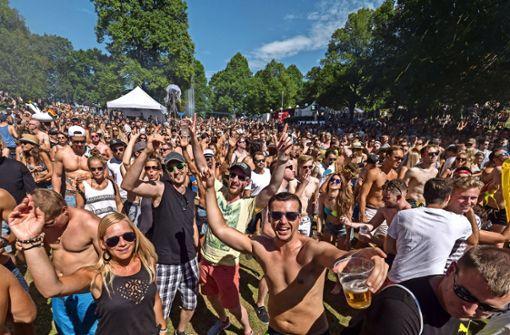 Anwohner beschweren sich über laute Techno-Party