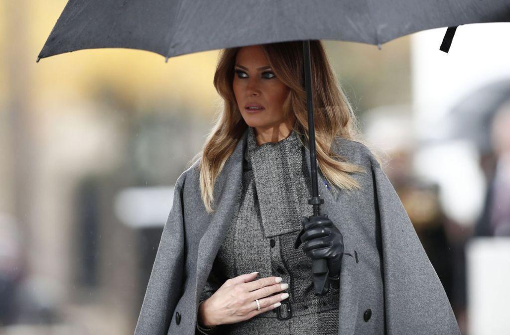 Melania Trump: Was sind die Motive für ihre Forderung? Foto: Reuters POOL