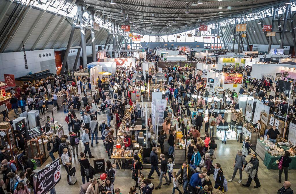 Gut besucht: Messe Stuttgart Foto: Lichtgut/Julian Rettig