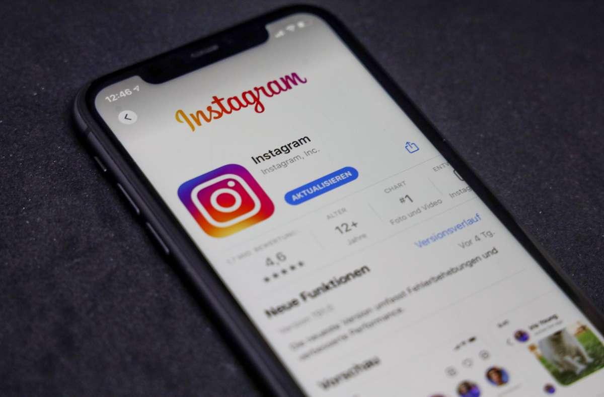 Instagram-User bekommen mehr Kontrolle darüber, wie viele sensible Inhalte ihnen im Feed angezeigt werd Foto: imago images/Rüdiger Wölk/ via www.imago-images.de