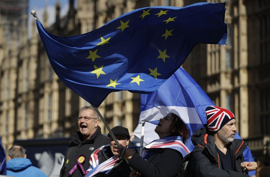 Der Ausstieg aus der EU bewegt die Briten. Foto: AP
