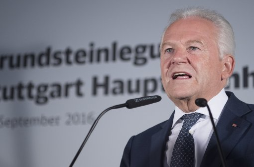 Aktionsbündnis gegen S 21 fordert Grubes Ablösung