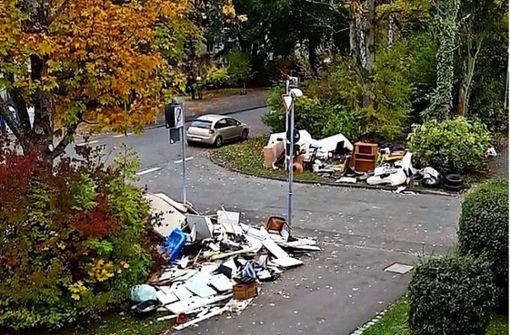Hilft eine Müllpolizei gegen Sperrmüllhaufen?