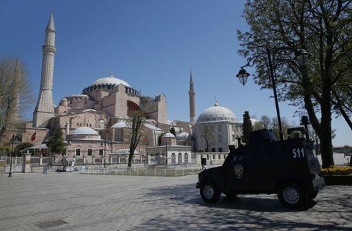 Istanbul wird durch Ausgangssperre zur Geisterstadt