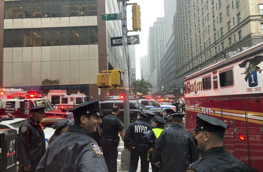 In New York kam es zu einem Helikopter-Unfall (Symbolbild). Foto: AP