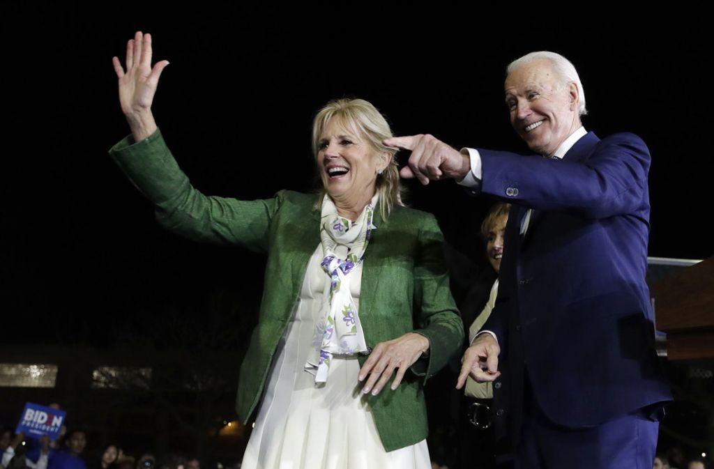 Joe Biden steht eher für die Vergangenheit als die Zukunft der demokratischen Partei – und liegt  dennoch gut im Rennen. Foto: AP/Marcio Jose Sanchez