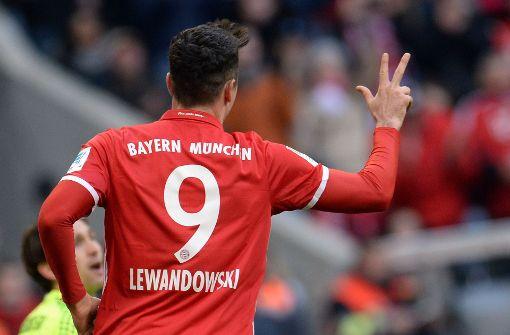 FC Bayern demütigt den HSV mit 8:0