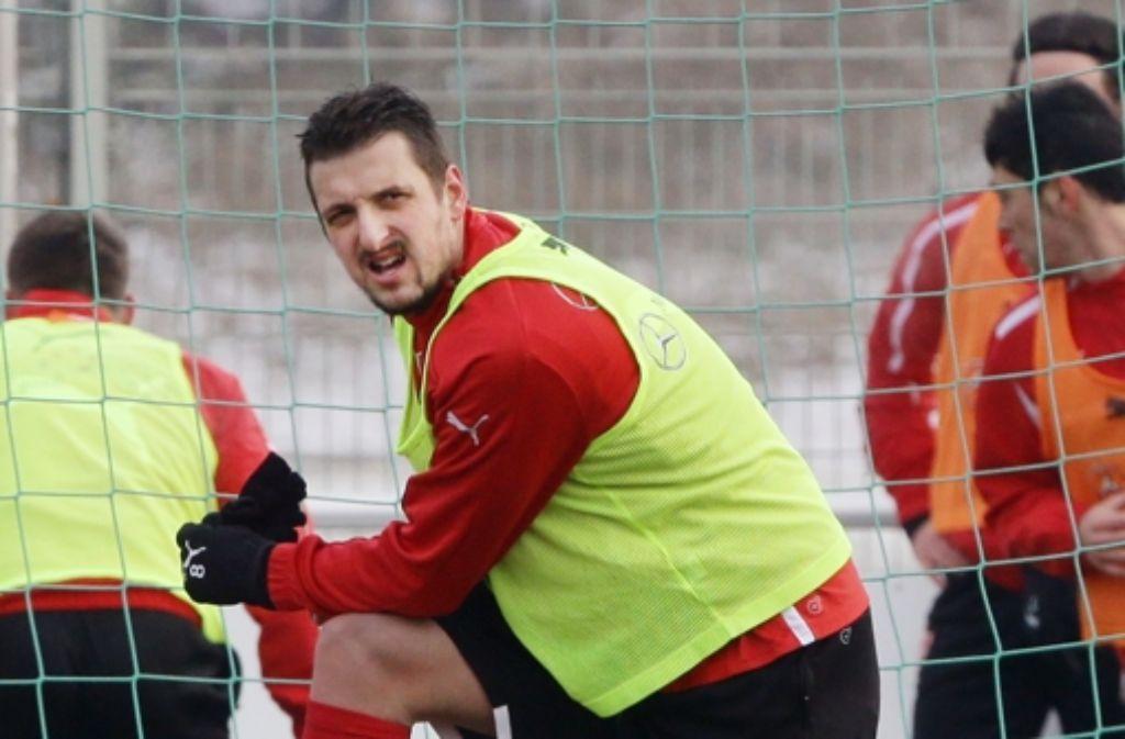 Zdravko Kuzmanovic wechselt vermutlich vom VfB Stuttgart zu Inter Mailand. Foto: Pressefoto Baumann