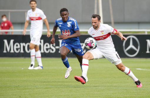 VfB Stuttgart gewinnt gegen Racing Straßburg