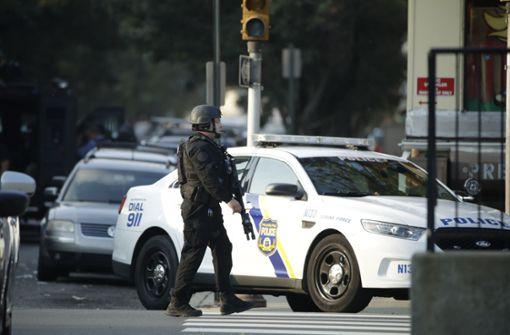 Schütze nach stundenlanger Schießerei  festgenommen