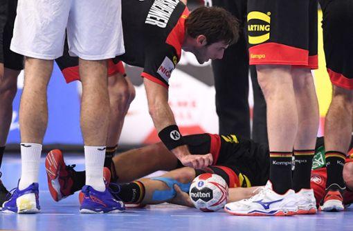 Verletzter Handballer Strobel meldet sich aus dem Krankenhaus