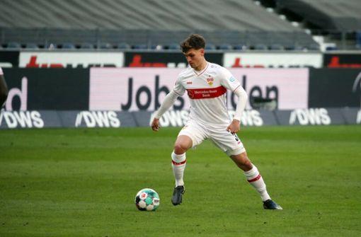 Mateo Klimowicz ist für die VfB-Startelf bereit