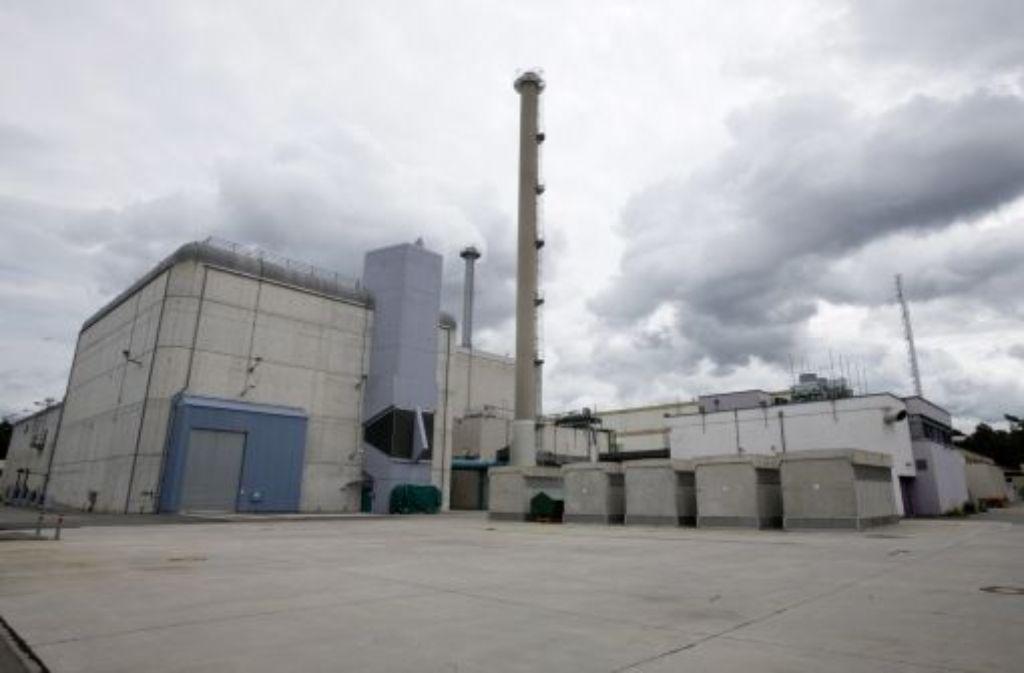 Die Kostenexplosion beim Rückbau der Wiederaufbereitungsanlage Karlsruhe soll mit der Korruptionsaffäre nichts zu tun haben. Foto: dapd