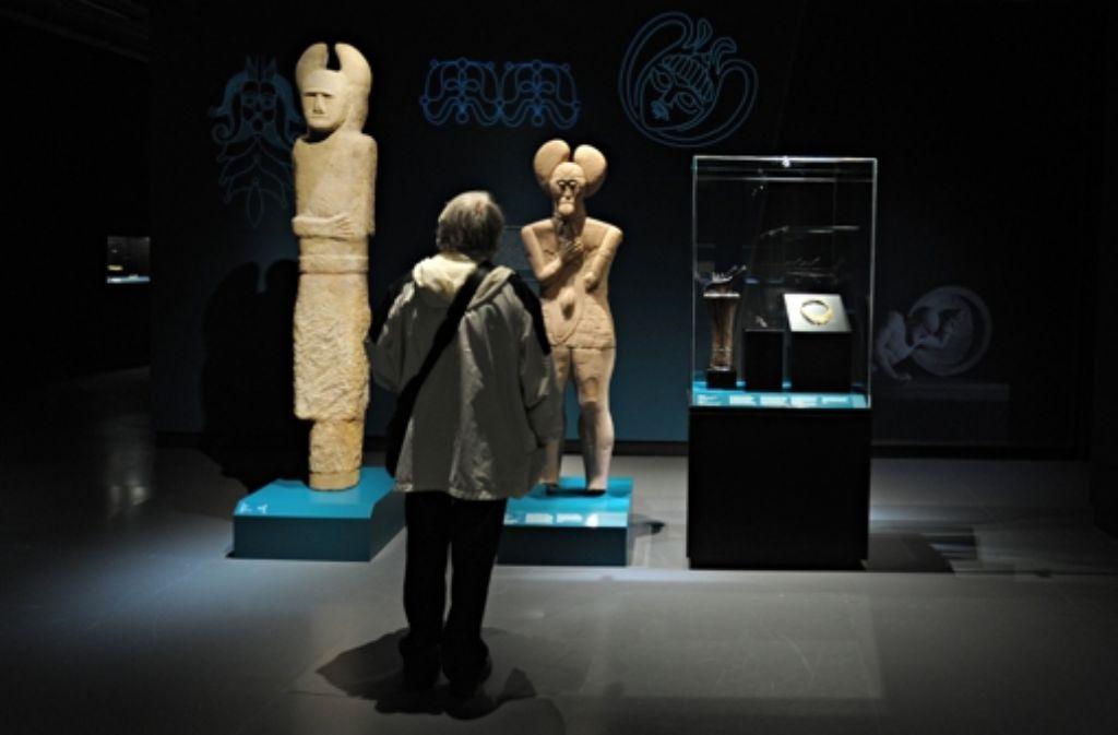 Bei der Ausstellung dreht sich alles um die Kelten. Foto: dpa