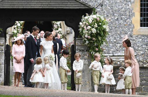 Herzogin Kate hat die Kinder im Griff