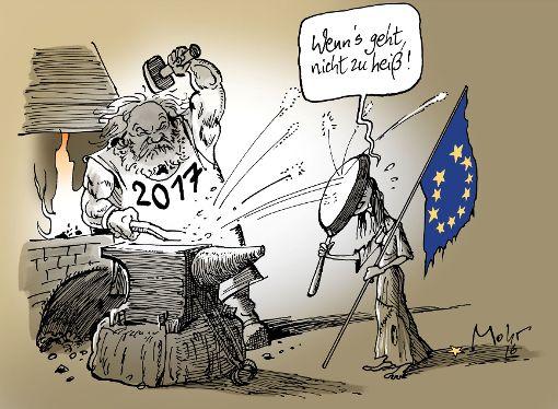 Die Karikatur des Tages aus dem Jahr 2016