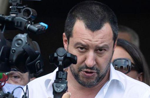 """Italiens Innenminister Salvini nennt Migranten """"Menschenfleisch"""""""