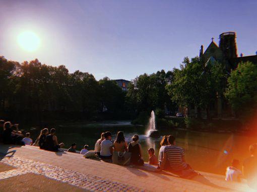 Open-Air-Partys, Flohmarkt und Ausstellungen