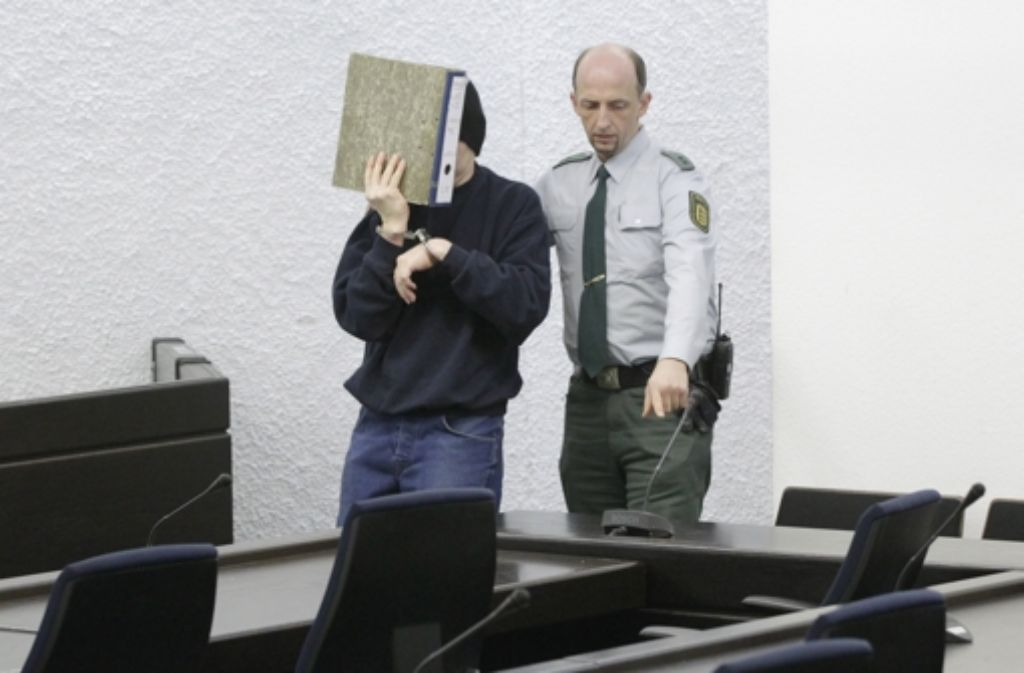 Das Stuttgarter Landgericht hatte den Mann zu einer lebenslangen Freiheitsstrafe mit anschließender Sicherungsverwahrung verurteilt. Foto: dapd