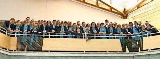 Der Junge Chor Stuttgart führt bei seinem diesjährigen Weihnachtskonzert Werke von Poulenc und Brahms auf. Foto: privat