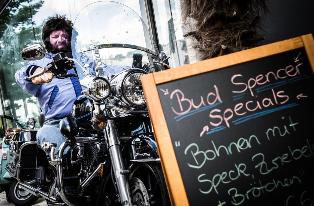 Bad-Spencer-Gedächtnisveranstaltung in der Gaststätte Eumel. Foto: Lichtgut/Max Kovalenko
