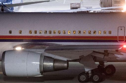 Dritter Flug in Kabul angekommen