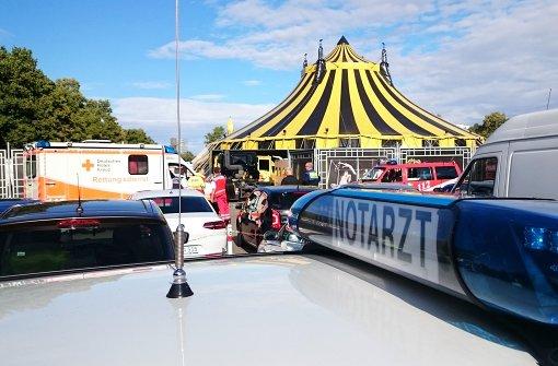 Motorrad-Show endet mit drei Verletzten