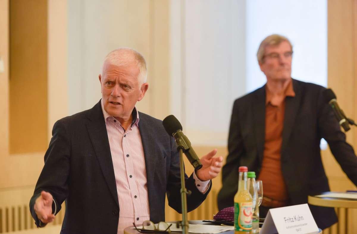 Stuttgarts OB Fritz Kuhn bedauert den Truppenabzug. Foto: Lichtgut/Max Kovalenko