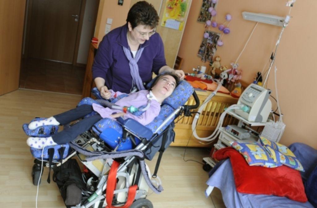 Das ist kein Krankenzimmer, sondern ein Kinderzimmer zu Hause. Foto: dpa
