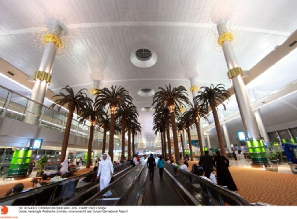 Der Dubai International Airport soll größer und luxeriöser werden. Foto: Caro / Sorge