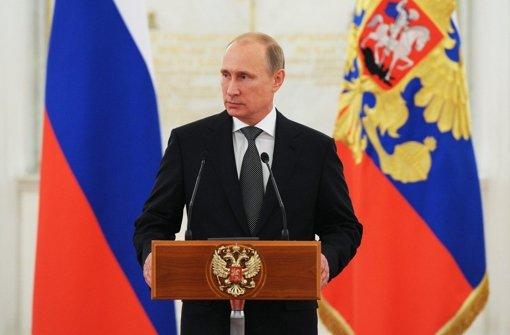 Putin: Es herrscht weiter Bürgerkrieg