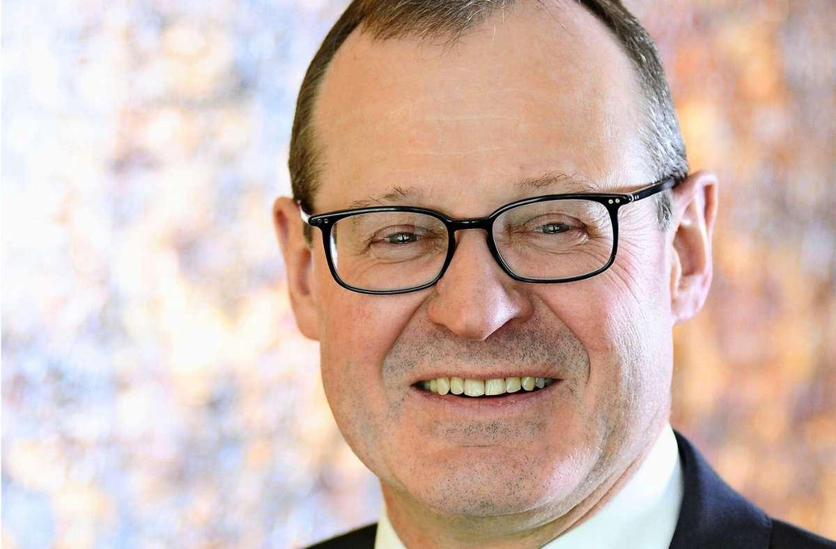 Roman Glaser, Präsident des Baden-Württembergischen Genossenschaftsverband, Plädiert für eine schnellstmögliche Öffnung aller Branchen. Foto: /BWVG