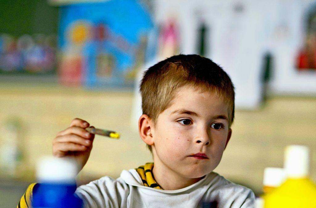Die Ganztagsbetreuung an Grundschulen soll für alle Kinder geöffnet werden Foto: dpa