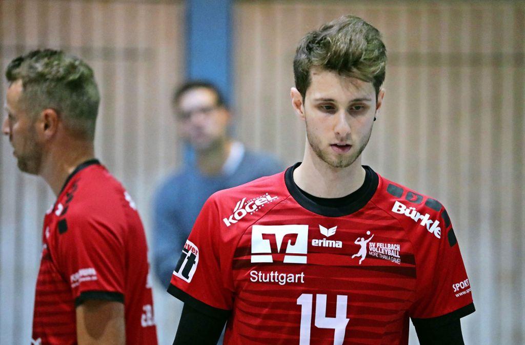 Spiel ausgefallen: Max von Berg taucht überraschend in Fellbach auf. Foto: Patricia Sigerist