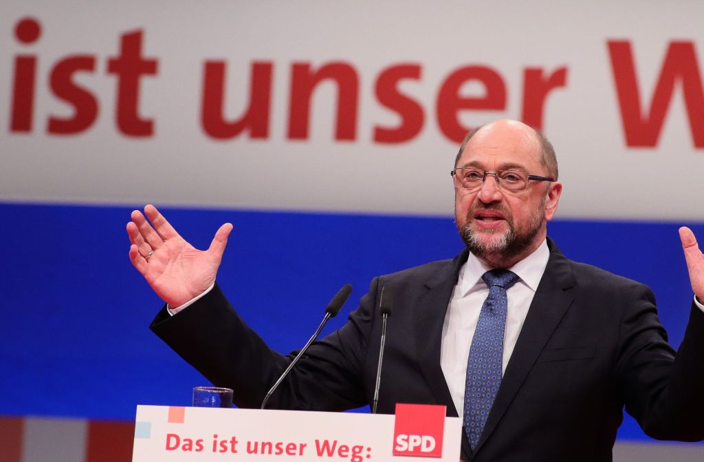 Martin schulz und die SPD sind offen für die Gespräche mit der Union. Foto: dpa